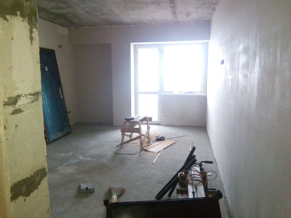 Ремонт двухкомнатной квартиры в новом 9-ти эт. доме возле ц. рынка
